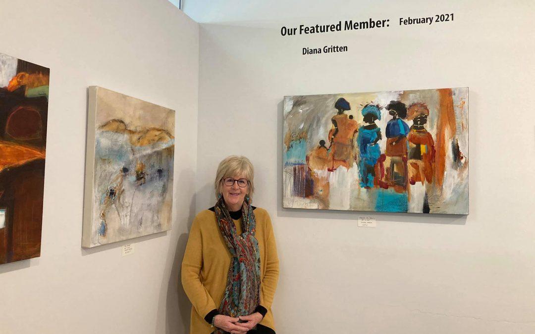 Art in Diversification – Exhibit by Diana Gritten