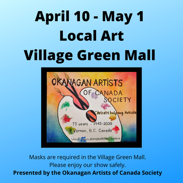 Okanagan Artists of Canada – Art Show & Sale