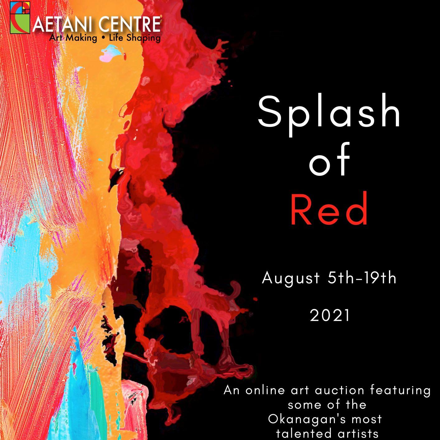 Splash of Red – Online Auction