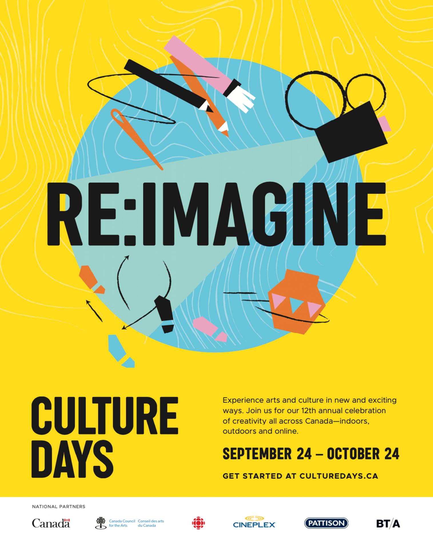 Culture Days – 30 Day Celebration of Arts & Culture